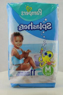 Pampers Splashers Swim Diapers Disposable Swim Pants, Medium