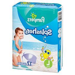 Pampers Splashers Swim Diapers Disposable Swim Pants, Large,