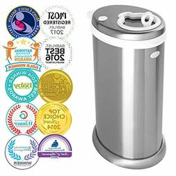 Ubbi Stainless Steel Odor Locking, No Special Bag Required M
