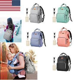 Stylish Diaper Bag Backpack Travel Large Backpack for Mom Ba