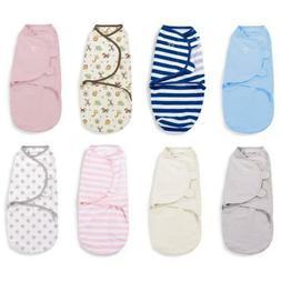 Summer Infant Swaddle Baby Blanket Wrap Swaddling 100% Cotto