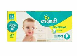 Pampers Swaddlers 150-Count Size 4 Pack Diapers