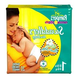 Pampers Swaddlers Baby Diaper Tab Closure 8-14 LBS - Size 1
