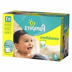 Pampers Swaddlers Diapers Size 4 164 Count