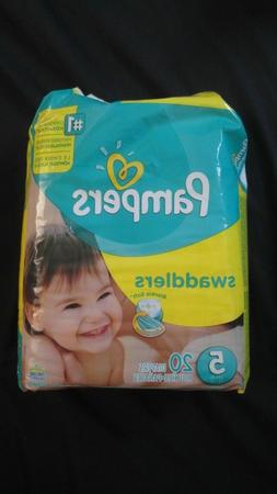 Pampers Swaddlers Diapers - Size 5 - 20 ct