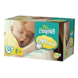 Pampers Swaddlers Diapers Big Pack Size 1 92 Count