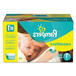Swaddlers Diapers, Size 5: 27 - 34 lbs, 104/Carton 86375CT