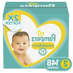 Pampers Swaddlers Diapers - Preemie Newborn 1 2 3 4 5 6 7