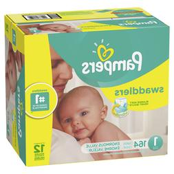Pampers Swaddlers Diapers Size 1 164 Count