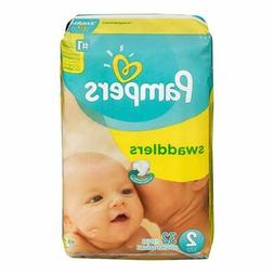 Pampers Swaddlers 4 Packs of 32 Size 2 Diapers 128 Count Hea