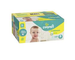 Pampers Swaddlers Diapers Size 4 120 Count, Free Shipping!