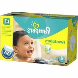 Swaddlers Diapers Size 4 with 144 pack Pampers Baby