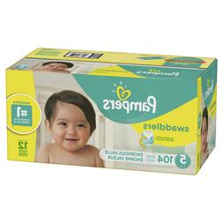 swaddlers diapers size 5 104 count