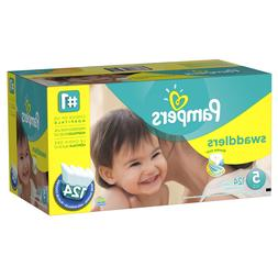Pampers Swaddlers Diapers Size 5 124 count - Free Shipping