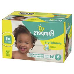 Pampers Swaddlers Diapers Size 6 84 Count