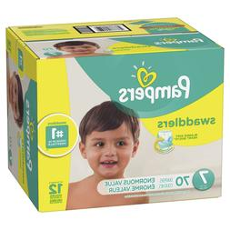 Pampers Swaddlers Diapers Size 7 70 Count