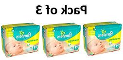 Pampers Swaddlers Diapers, Size Newborn, 20 Count Pack of 3