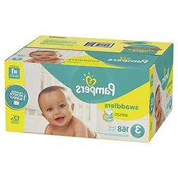 swaddlers disposable baby diapers size 3 168