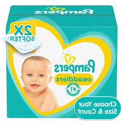 Pampers Swaddlers Disposable Diapers *Preemie, Newborn, 1, 2