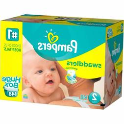 Pampers Swaddlers Disposable Diapers Size 2  *Free 2 day Shi