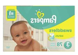 Pampers Swaddlers Disposable Diapers Size 3  *Free 2 day Shi