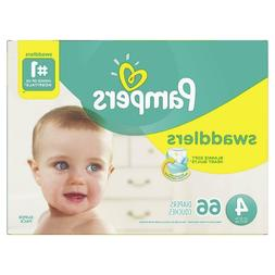 Pampers Swaddlers Disposable Diapers Size 4  *Free 2 day Shi