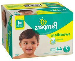 Pampers Swaddlers Disposable Diapers Size 7  *Free 2 day Shi