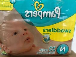 Pampers Swaddlers Disposable Diapers - Size N Newborn 12 Pac