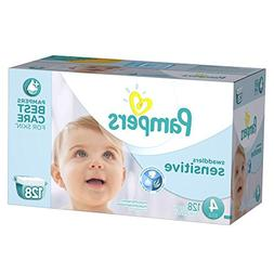 Pampers Swaddlers Sensitive Diapers Size 4 Economy Pack Plus