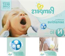 Pampers Swaddlers Sensitive Disposable Baby Diapers  Newborn