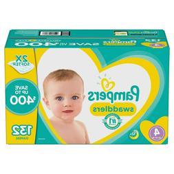Pampers Swaddlers - Size 4, 22–37lbs, 132 Count - Diapers