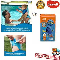 Huggies Swimmers Disposable Swim Diapers Swimpants Size 4 Me