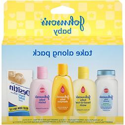 Johnson's Tiny Traveler, Baby Bath And Baby Skin Care Produc