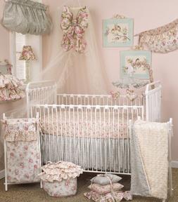 Cotton Tale Designs Tea Party Bedding Set, 7 Piece