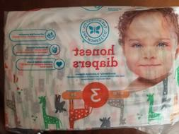 the honest company diapers giraffes size 3