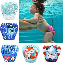 Toddler Baby Boy Girl Kids Reuseable Adjustable Swim Diapers