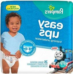 Pampers Easy Ups Training Pants for Boys 2T/3T Jumbo Pack -