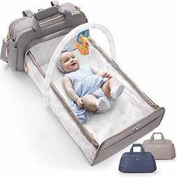 Travel Bag 4 in 1 Convertible Baby Diaper bag Changing Pad B