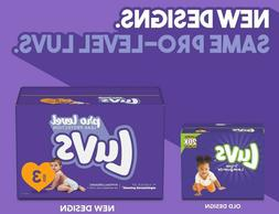 Luvs Triple Leakguards Disposable Diapers *Size 1, 2, 3, 4,