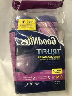 Goodnites Trufit Real Underwear for Girls, Starter Pack Size