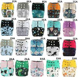 U PICK AIO ALL IN ONE Washable Baby Cloth Diaper Nappy Charc