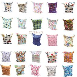 U Pick Wet Dry Bag Baby Cloth Diaper Nappy Bag Reusable With