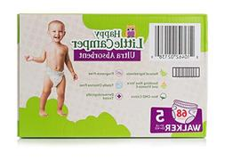 Babyganics Ultra Absorbent Diapers, Size 5, 68 Count