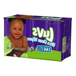 Luvs Ultra Clean Wipes 2x Refills 144 Count