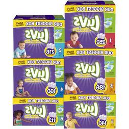 LUVS Ultra Leakguards Baby Diapers Size 1, 2, 3. 4. 5, 6 NO