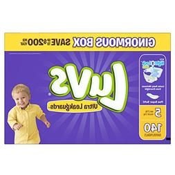Luvs Ultra Leakguards Size 5 Diapers - 140 Count