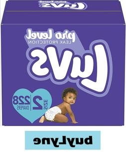 Luvs Ultra Leakguards Diapers - Size 2  **buyLyne**