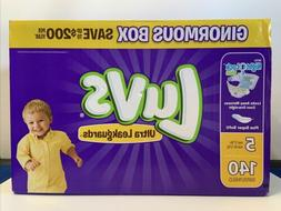 Luvs Ultra Leakguards Diapers, Size 5, 124 Count