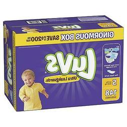 Luvs Ultra Leakguards Disposable Baby Diapers Size 5 One Mon