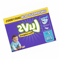 Luvs Ultra Leakguards Size 2 Disposable Diapers - 216 Count